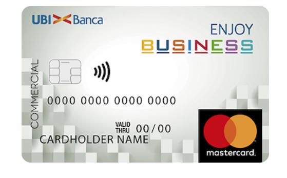 Esempio di carte prepagate aziendali Enjoy Business