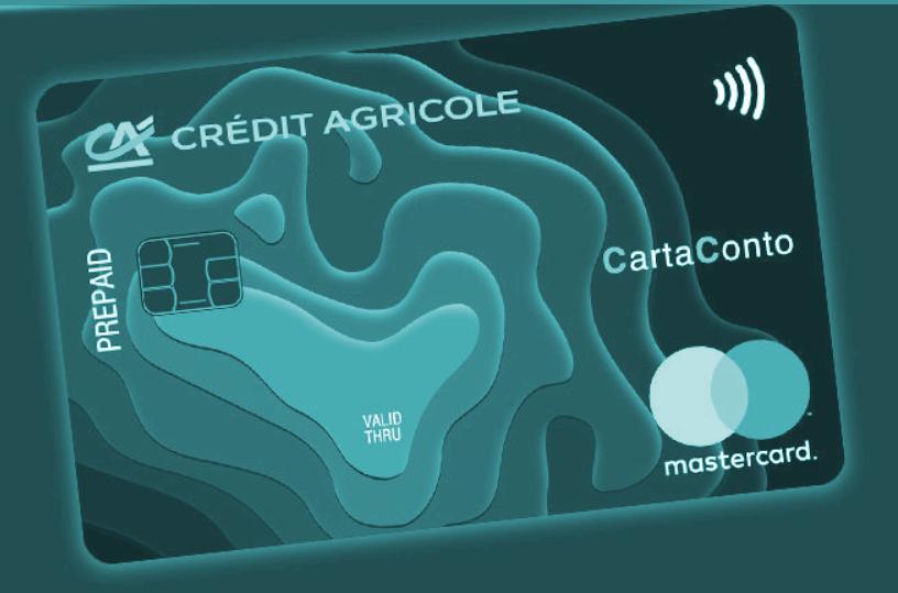 CartaConto di Credit Agricole, immagine simbolo della prepagata