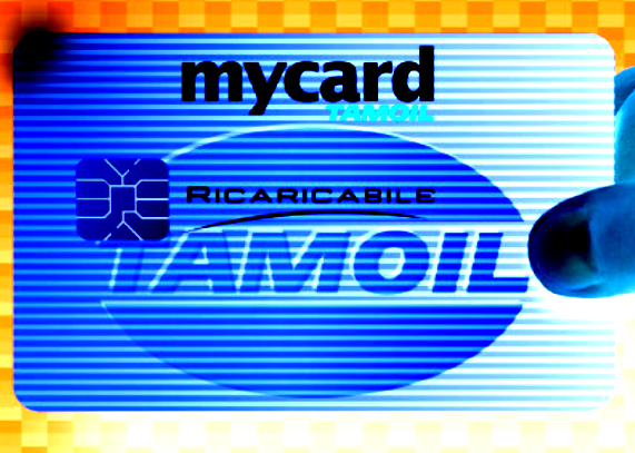 Facsimile di una mycard Tamoil Ricaricabile