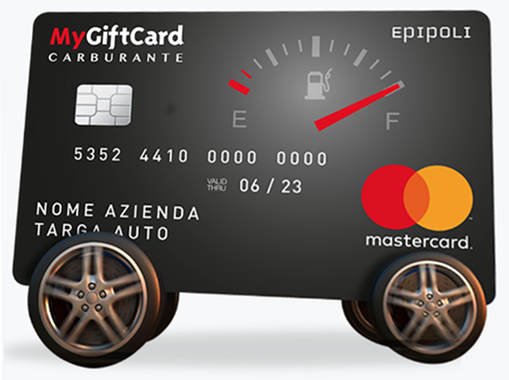 Facsimile della MyGiftCard Carburante