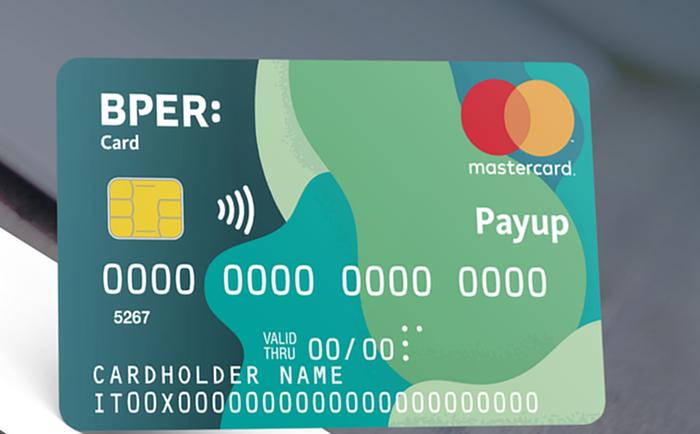 Facsimile di BPER Card payup