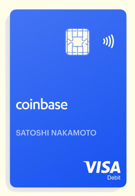 Facsaimli edi una prepagata coinbase card
