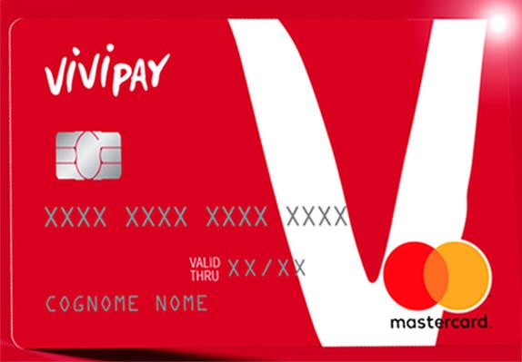 Facsimile di una carta prepagata Vivipay