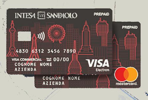 Facsimile su circuito visa e su circuito mastercard di carta prepaid