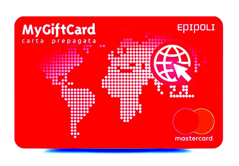 Facsimile di Epipoli Prepagata Mastercard Web