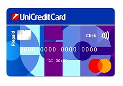 Facsimile di unicredit card click